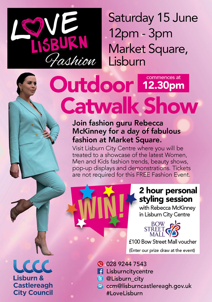 Outdoor Catwalk at Bow Street Mall