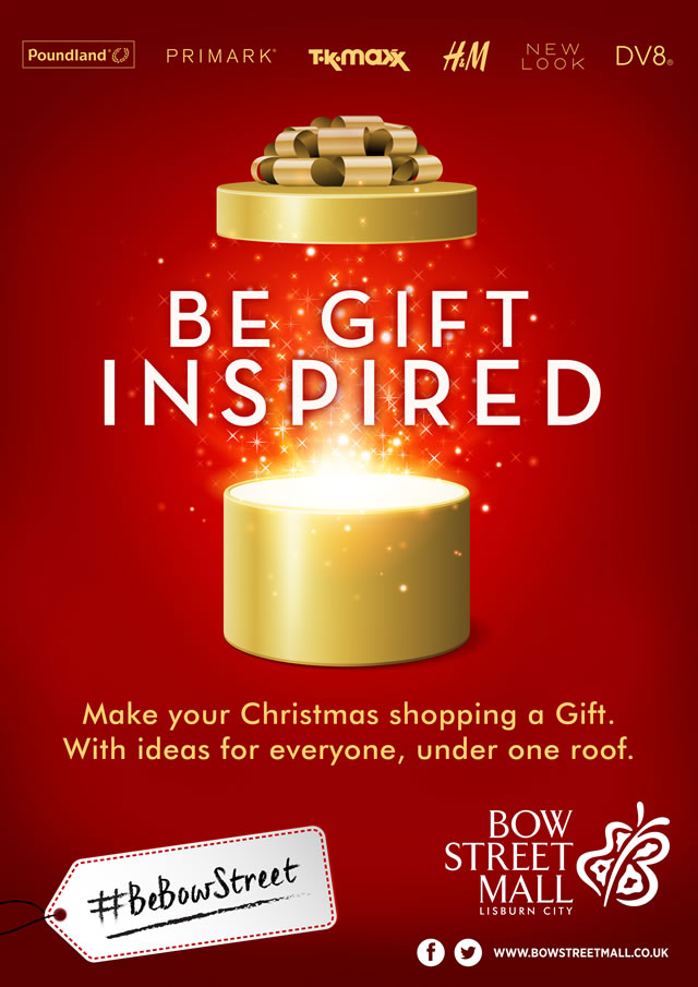 Be Gift Inspired At Bow Street Mall This Christmas