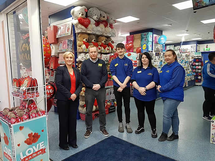 Card Factory Opens at Bow Street Mall