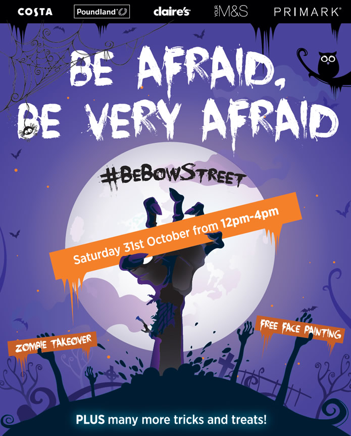 Halloween at Bow Street Mall Lisburn